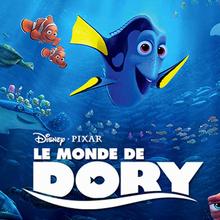 Disney, Coloriage LE MONDE DE DORY